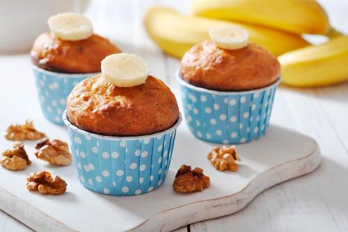 Готуємось до вікенду: простий рецепт бананових HEALTHY-капкейків